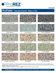 ProFlake Standard Series Floor Covering