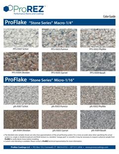 ProFlake Stone Series