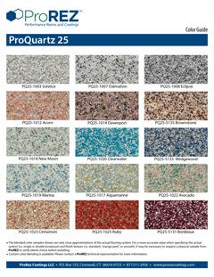 ProQuartz 25 Series