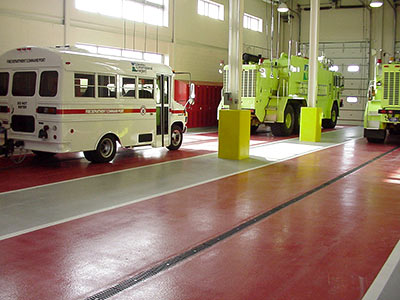 Fire Station Floors