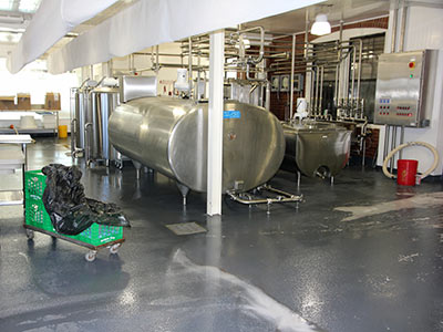 Dairy Processing Floors