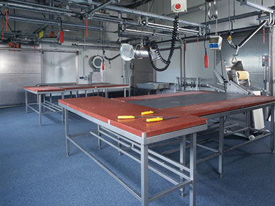 Meat, Poultry & Seafood Processing Floors