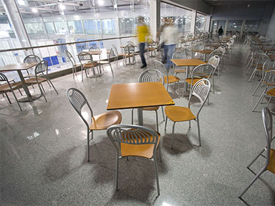 Food Court Area Floors