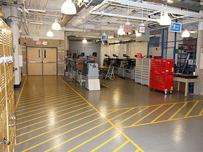 Warehousing & Distribution Floors