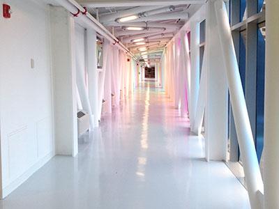 Pedestrian Deck, Stairwell & Service Corridor Floors