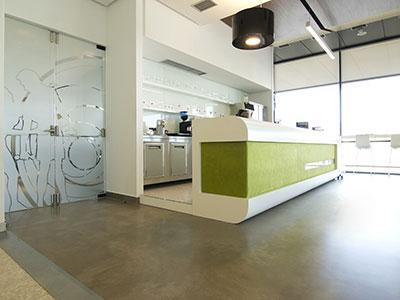 Bar Area Floors
