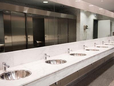 Restroom Floors